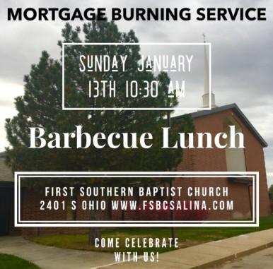 mortgage burning service